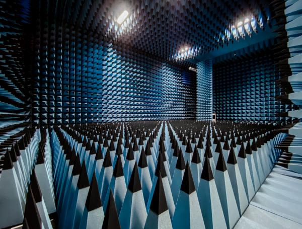 The anechoic chamber at the Department of Physics and Engineering of ITMO University